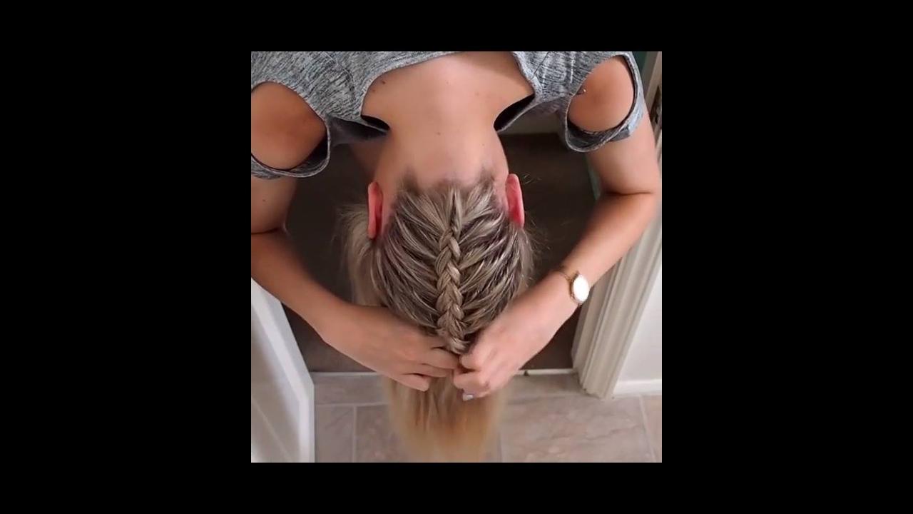 Vídeo com tutorial de penteado lindo para você mesma fazer!!!