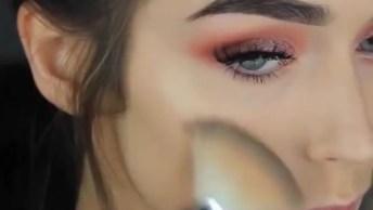Vídeo Com Uma Linda Inspiração De Maquiagem, Olha Só Que Erfeição!
