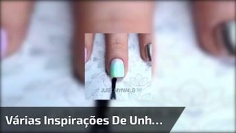 Vídeo Com Unhas Decoradas, Um Mais Linda Que A Outra, São Várias Inspirações!