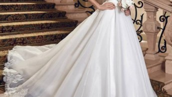 Vídeo Com Várias Fotos De Vestido De Noiva, É Um Mais Lindo Que O Outro!