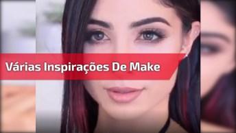 Vídeo Com Várias Inspirações De Make, É Só Dar O Play E Escolher A Sua Preferida
