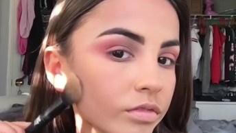 Vídeo Com Várias Inspirações De Maquiagem Para Garotas, Veja Como São Lindas!