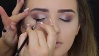 Vídeo Com Várias Inspirações De Maquiagem Para Você Fazer Em Casa!