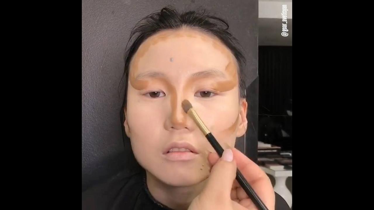 Vídeo com várias inspirações de maquiagem
