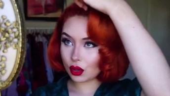 Vídeo Com Vários Penteados Vintage Maravilhosos Para Você Mesma Fazer!