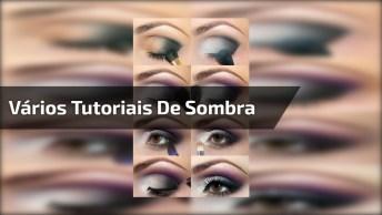 Vídeo Com Vários Tutoriais De Contorno, Sombra, Batom, Tem De Tudo, Confira!