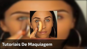 Vídeo Com Vários Tutoriais De Maquiagem, Bora Dar O Play E Escolher A Preferida!