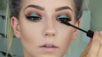 Vídeo Com Vários Tutoriais De Maquiagem Lindíssimas Para Você Fazer!