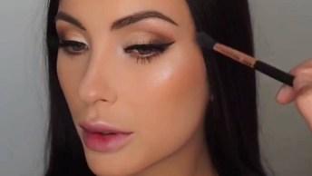 Vídeo Com Vários Tutoriais De Maquiagem Para Te Inspirar No Fim De Ano!