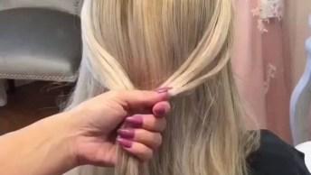 Vídeo Com Vários Tutoriais De Penteados Com Tranças, Olha Só Que Perfeição!