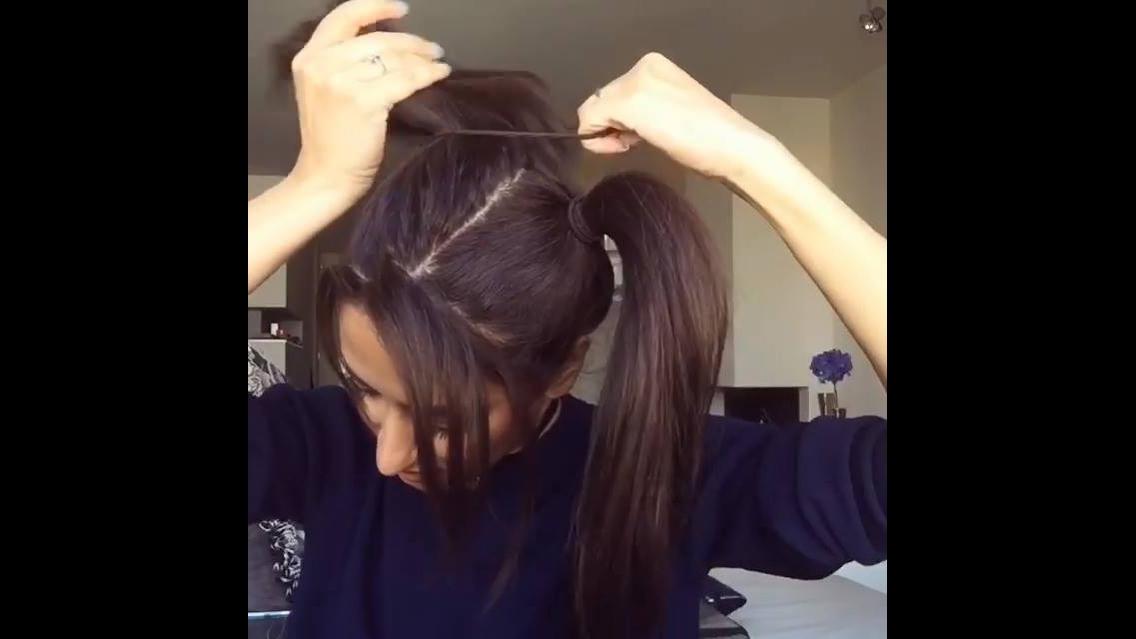 Vídeo com vários tutoriais de penteados para você mesma fazer!!!