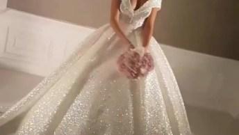 Vídeo Com Vestido Maravilhoso Para Noivas, Vale Apena Conferir!