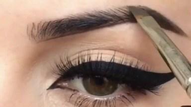 Vídeo De Correção De Sobrancelhas Com Maquiagem Para Começar Bem O Dia!