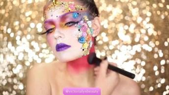 Vídeo De Maquiagem De Unicórnio, A Nova Febre Das Garotas!