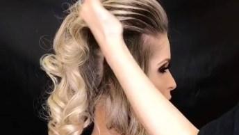 Vídeo De Penteado Maravilhoso Para Te Inspirar, Perfeito Para Eventos Especiais!