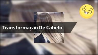 Vídeo De Transformação De Cor De Cabelo, Se Você Gosta De Loiro, Vai Amar!