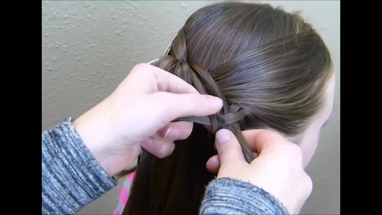 Vídeo de tutorial de penteado lindo, e super diferente, confira!!!