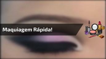 Video Mais Rápido De Maquiagem, Até Que O Resultado Ficou Bom!