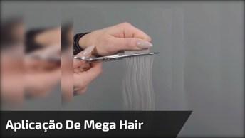 Vídeo Mostrando Aplicação De Mega Hair Com Fita De Queratina!