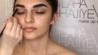 Vídeo Mostrando Maquiagem Maravilhosa, Com Certeza Você Vai Se Inspirar Com Ela!