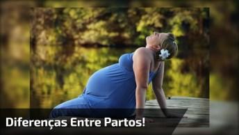 Vídeo Muito Legal Mostrando As Diferenças Entre Parto Normal E Cesariana!