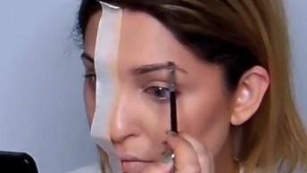 Vídeo Muito Legal Mostrando Como Maquiagem Faz Toda Diferença!