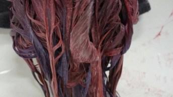 Vídeo Para Fãs De Cabelos Coloridos, Da Uma Olhada Nesta Cor Divina!