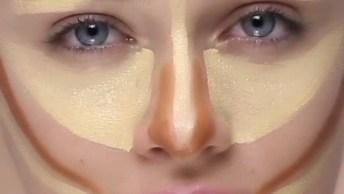 Vídeo Rápido Com Tutorial De Contorno No Rosto, Veja Como Ficou Linda!