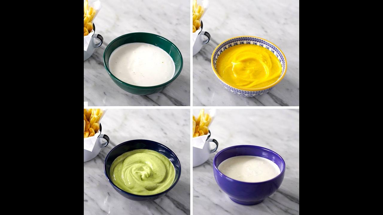 4 Maneiras de fazer maionese