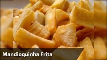 Aprenda A Fazer Mandioquinha Frita De Maneira Bem Simples, Confira!