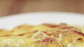 Aprenda A Fazer Peito De Frango Gratinado, Uma Ideia Para Seu Almoço!