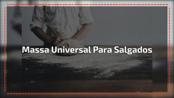 Aprenda A Fazer Uma Massa Que Serve Para Qualquer Salgado Frito!