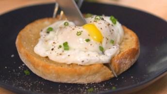 Aprenda A 'Fritar' Um Ovo Na Água, O Resultado É Uma Delicia!