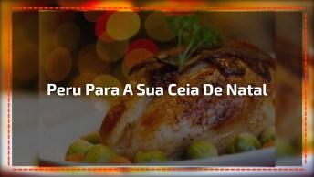 Aprenda A Preparar Peru Para A Sua Ceia De Natal - Melhor Receita!