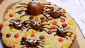 Aranha Gigante De Chocolate, Enfeite Sua Festa De Halloween!