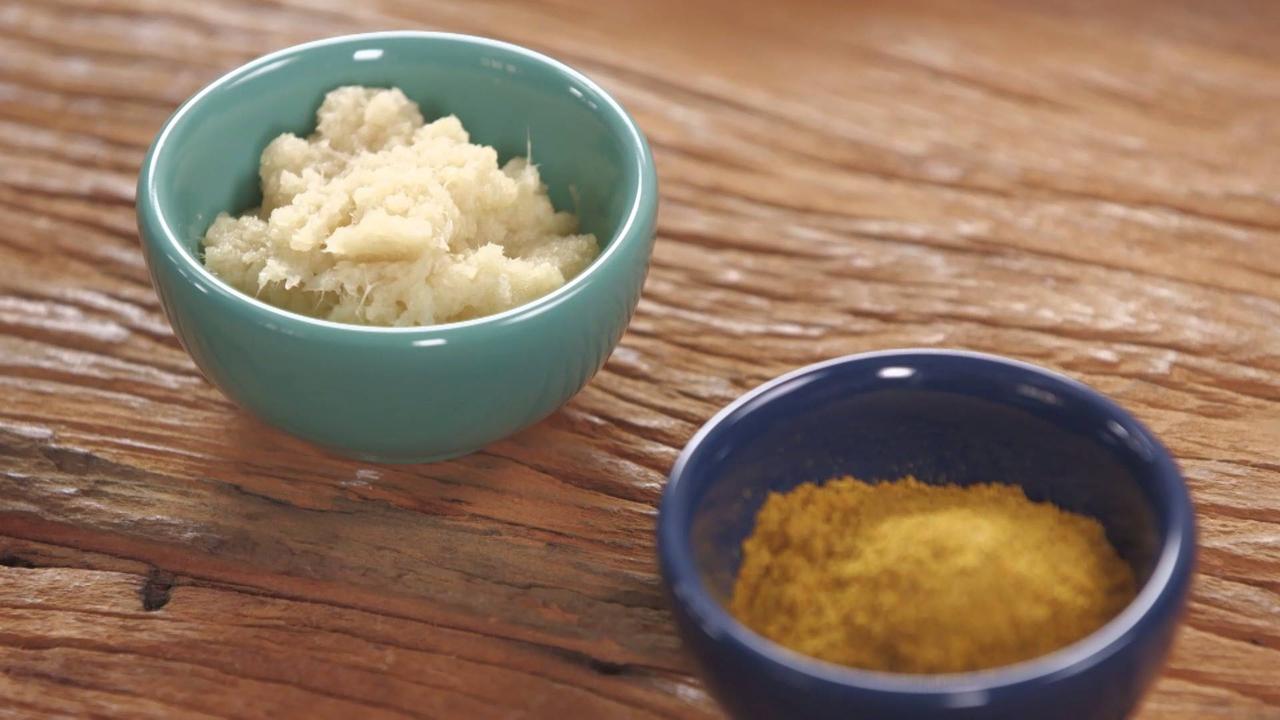 Arroz com Gengibre e Curry