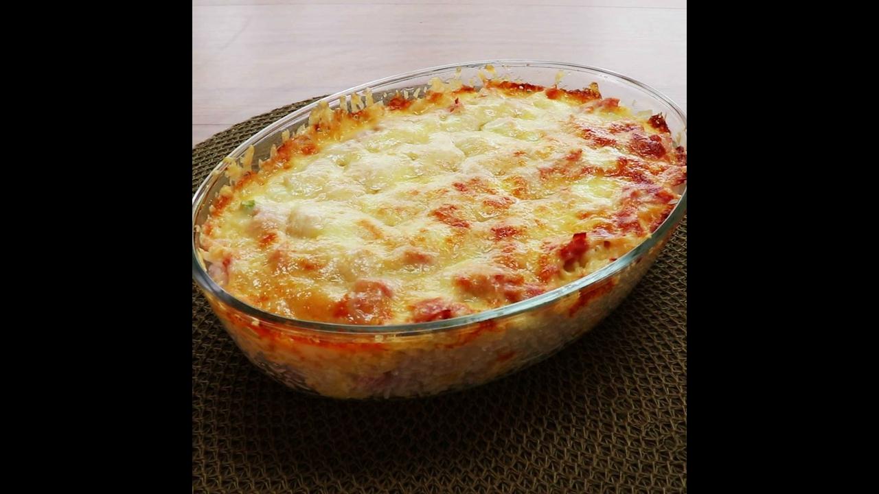 Arroz de Forno Cremoso, uma receita simplesmente maravilhosa!