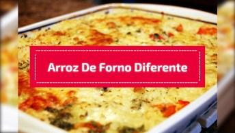 Arroz De Forno Diferente - O Almoço De Domingo Ficará Ainda Melhor!