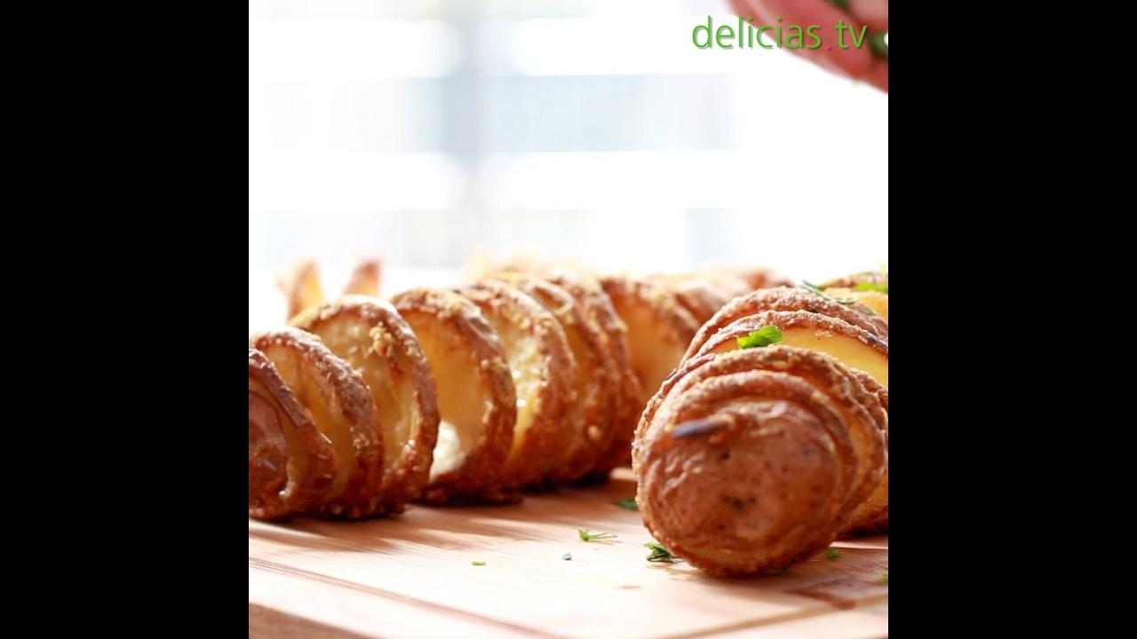 Batata em Espiral, uma ideia para variar no jeito de fazer batatas