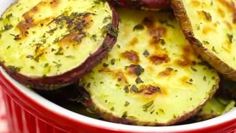 Batatas Crocantes Com Orégano E Limão, Impossível Não Se Apaixonar!