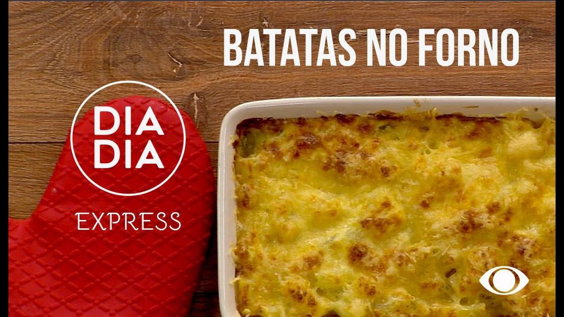 Batatas de Forno, para servir no almoço de família no domingo