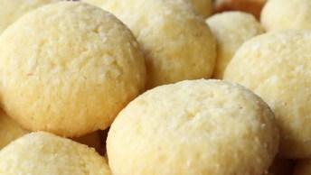 Biscoitinhos De Fubá, Uma Ótima Opção Para Substituir O Pão Da Tarde!
