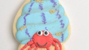 Biscoito Com Tema Do Mar, Mais Uma Ideia Super Fofa De Biscoito Decorado!