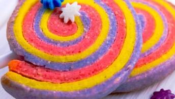 Biscoito De Amêndoas Coloridos, Parecem Pirulitos, Mas São Biscoitos!