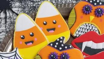 Biscoito Decorado Com Carinha Fofa, Mais Um Para Você Aprender!