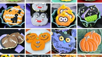 Biscoitos Com Tema De Halloween, São Ideias Incríveis Para Você Se Inspirar!
