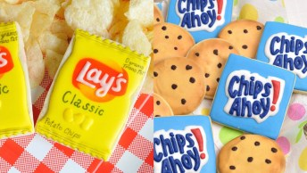 Biscoitos Decorados Com Desenhos De Embalagens, Confira!