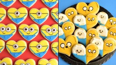 Biscoitos Decorados Com Temas De Desenhos Infantis, Muita Fofura!