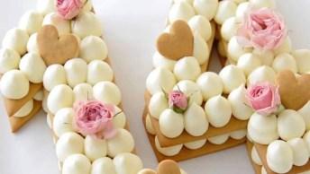 Biscoitos Recheados Em Formato De Números, Mais Uma Tendência!