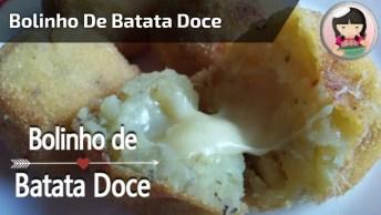 Bolinho De Batata Doce, Perfeito Para Quem Faz Academia, Confira!